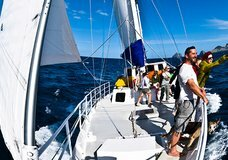 Ecocruz 3-day sailing expedition :: click here for more information