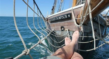 Relax in the bowsprit